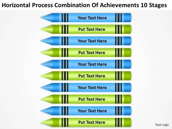 Process Combination Of Acheivements 10 Stages Ppt Business Plans Made Easy PowerPoint Templates