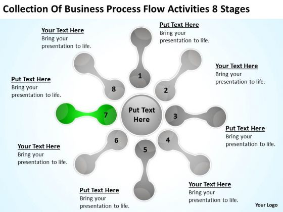 process flow activities 8 stages ppt starting business plan template powerpoint slides powerpoint templates