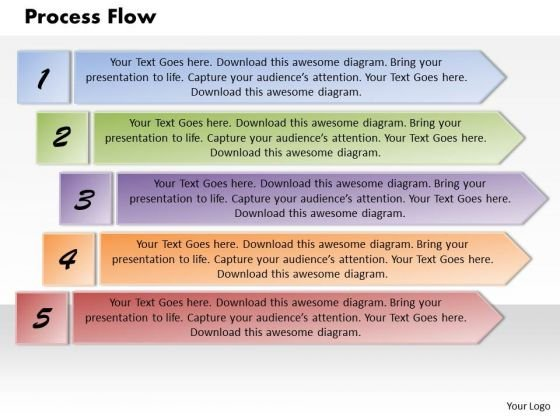 Process Flow PowerPoint Presentation Template
