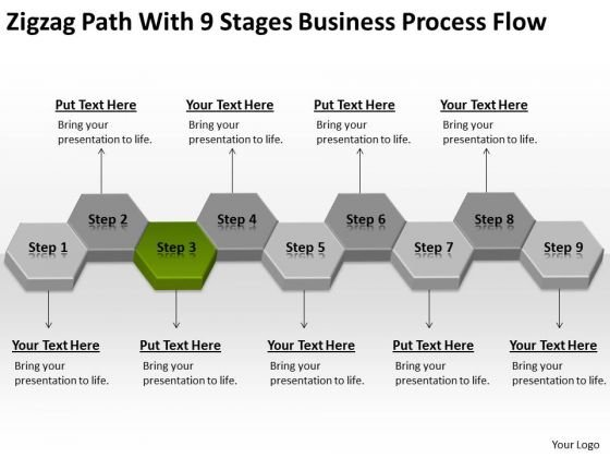 Process Flow Ppt Non Emergency Medical Transportation Business - Healthcare business plan template