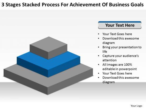 Process For Achievement Of Business Goals Ppt Plan PowerPoint Templates
