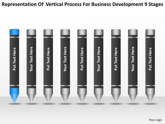 Process For Business Development 9 Stages Ppt Basic Plan Template PowerPoint Templates