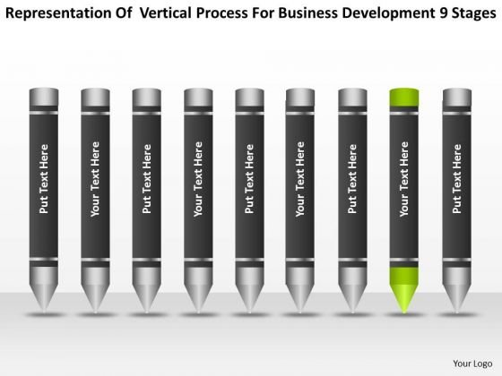 Process For Business Development 9 Stages Ppt Creating Plan PowerPoint Slides