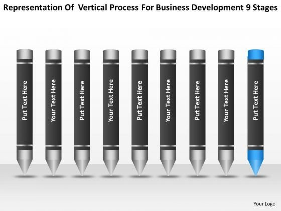 Process For Business Development 9 Stages Ppt Online Plans PowerPoint Templates
