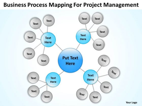 Process Mapping For Project Management Ppt Business Plan Template PowerPoint Templates