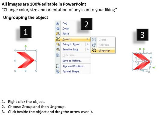 Process Ppt Theme Linear Arrows  Stages Communication Skills