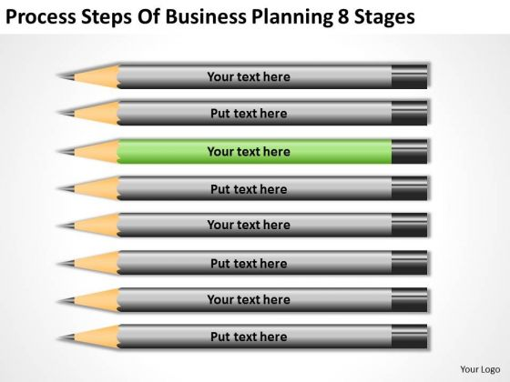 Process Steps Of Business Planning 8 Stages Ppt Small Outline PowerPoint Templates