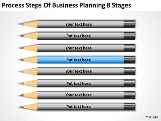 Process Steps Of Business Planning 8 Stages Successful PowerPoint Slides