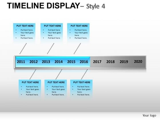 Project Timeline Display PowerPoint Slides And Ppt Diagram Templates