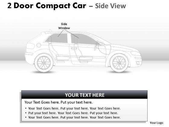 Purchase 2 Door Blue Car Side PowerPoint Slides And Ppt Diagram Templates