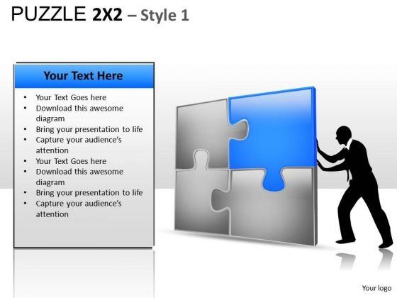 Puzzle Solution PowerPoint Slides And Ppt Template Diagrams