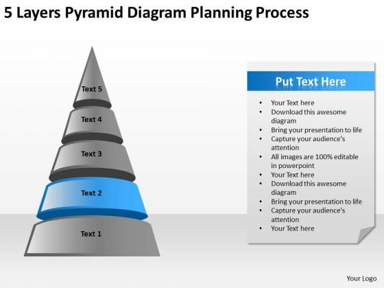 Pyramid Diagram Planning Process Ppt Business Plans For PowerPoint Templates