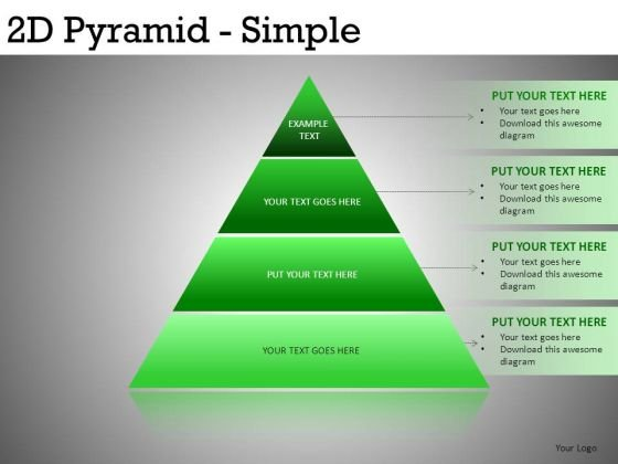 Pyramid Diagrams For PowerPoint