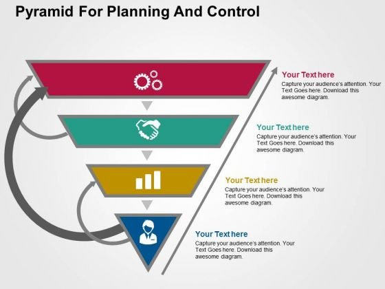 Pyramid For Planning And Control PowerPoint Templates