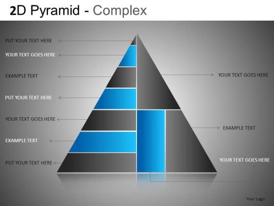 Pyramid Structure Editable PowerPoint Templates And Slides