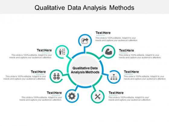Qualitative Data Analysis Methods Ppt PowerPoint Presentation Slides Information Cpb