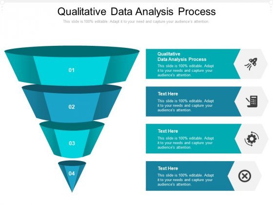 Qualitative Data Analysis Process Ppt PowerPoint Presentation Layouts Themes Cpb Pdf
