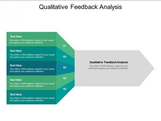Qualitative Feedback Analysis Ppt PowerPoint Presentation Styles Designs Download Cpb Pdf