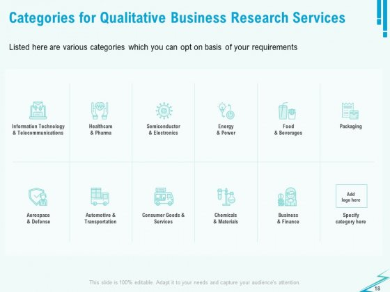 Qualitative_Market_Research_Study_Proposal_Ppt_PowerPoint_Presentation_Complete_Deck_With_Slides_Slide_18