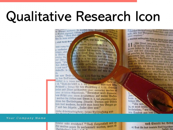 Qualitative Research Icon Financial Portfolio Dollar Sign Human Dna System Ppt PowerPoint Presentation Complete Deck