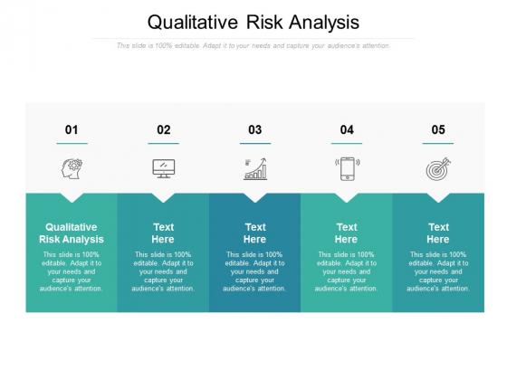 Qualitative Risk Analysis Ppt PowerPoint Presentation File Ideas Cpb