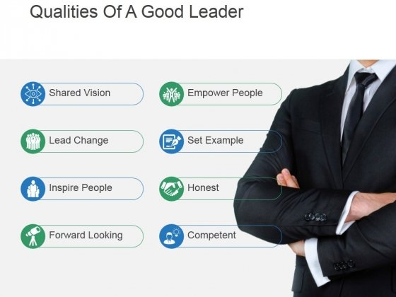 Qualities Of A Good Leader Ppt PowerPoint Presentation Designs Download