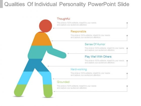 Qualities Of Individual Personality Powerpoint Slide