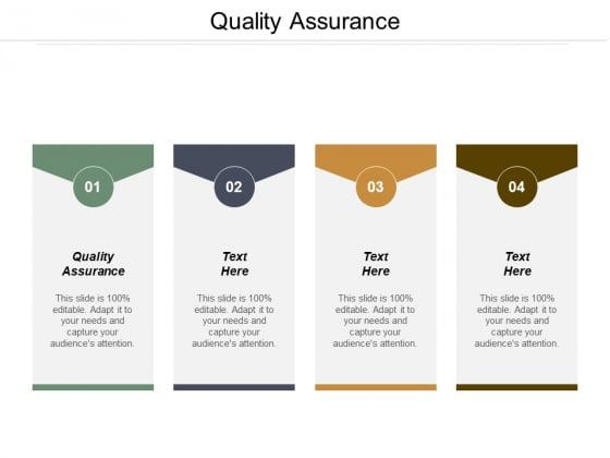 Quality Assurance Ppt PowerPoint Presentation Slides Portrait Cpb
