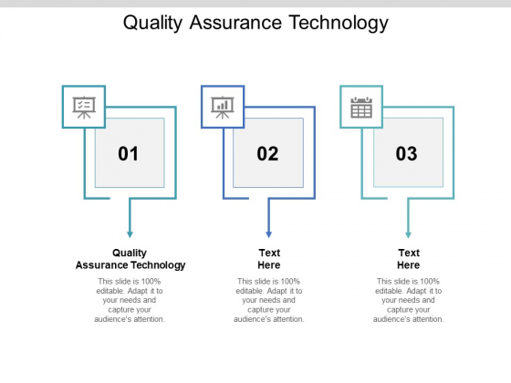 Quality Assurance Technology Ppt PowerPoint Presentation Styles Graphics Template