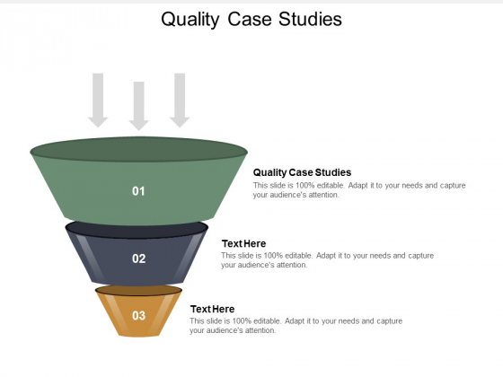 Quality Case Studies Ppt Powerpoint Presentation Gallery Vector Cpb