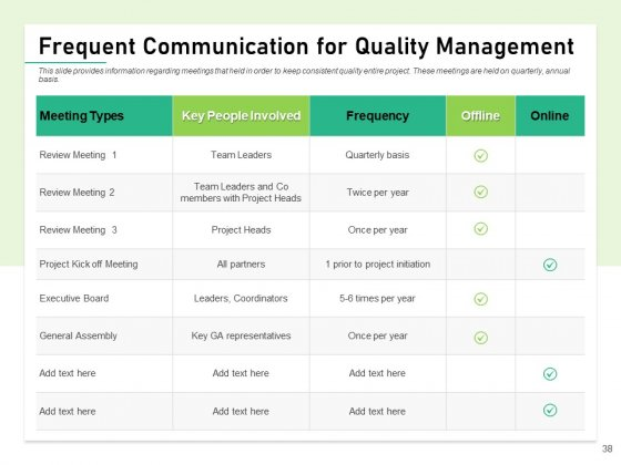 Quality_Management_Plan_QMP_Ppt_PowerPoint_Presentation_Complete_Deck_With_Slides_Slide_38