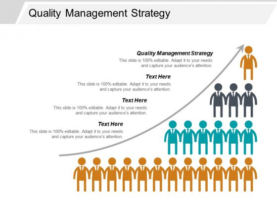Quality Management Strategy Ppt PowerPoint Presentation Ideas Tips Cpb