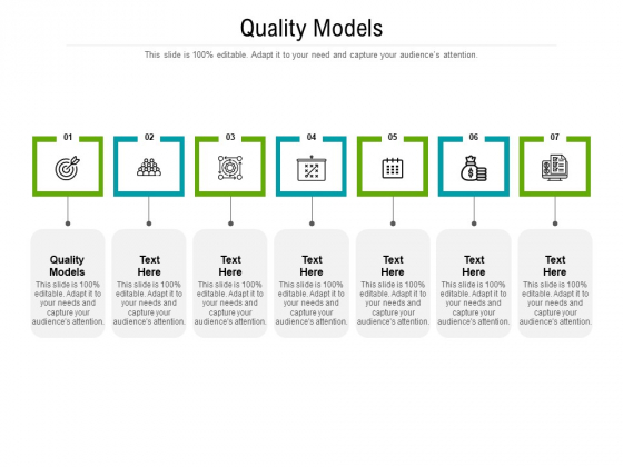 Quality Models Ppt PowerPoint Presentation Icon Graphics Download Cpb