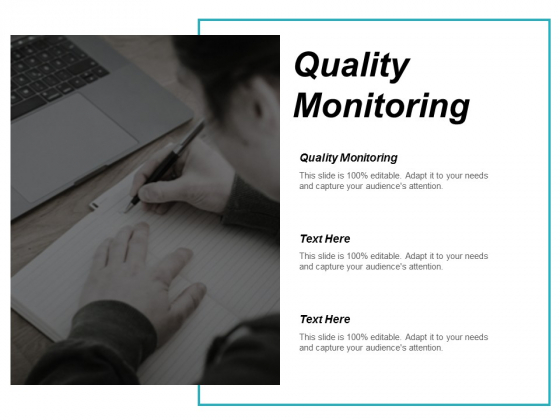 Quality Monitoring Ppt PowerPoint Presentation File Structure Cpb
