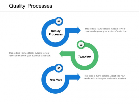 Quality Processes Ppt PowerPoint Presentation Pictures Sample Cpb