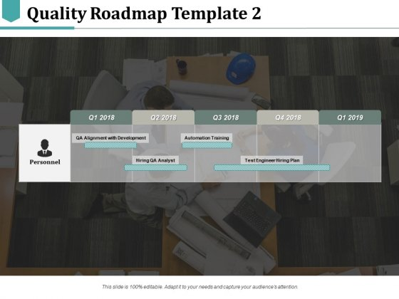 Quality Roadmap Hiring QA Analyst Ppt PowerPoint Presentation Portfolio Template