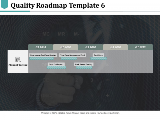 Quality Roadmap Risk Based Testing Ppt PowerPoint Presentation Infographic Template Demonstration