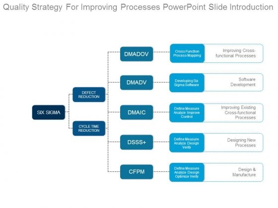 Quality Strategy For Improving Processes Powerpoint Slide Introduction