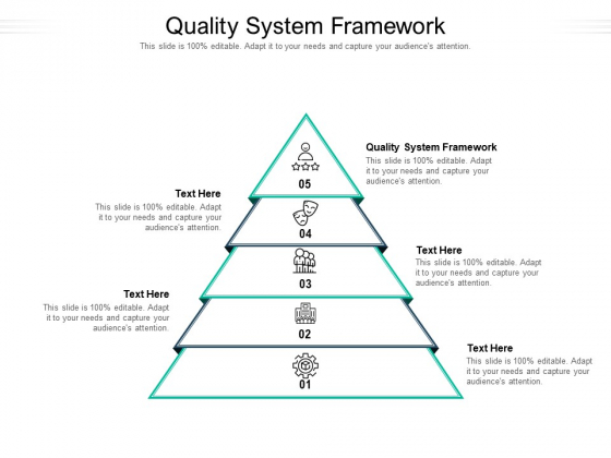 Quality System Framework Ppt PowerPoint Presentation Gallery Graphics Download Cpb Pdf