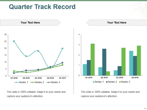 Quarter Track Record Ppt PowerPoint Presentation Gallery Images