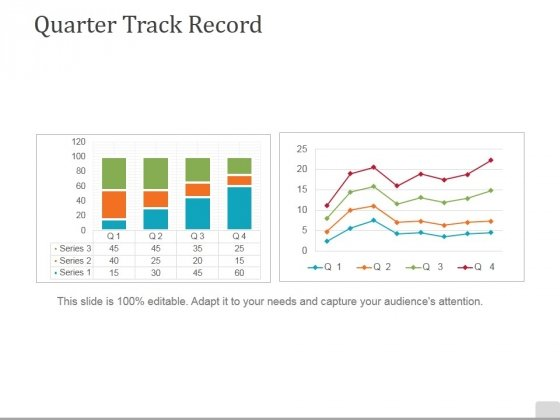 Quarter Track Record Ppt PowerPoint Presentation Icon Files