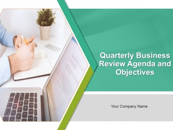 Quarterly Business Review Agenda And Objectives PowerPoint Presentation Complete Deck With Slides