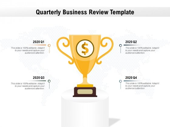 Quarterly Business Review Template Ppt PowerPoint Presentation Show Aids