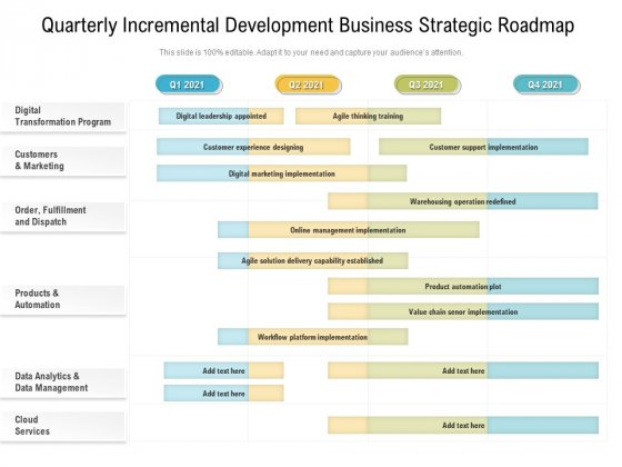 Quarterly_Incremental_Development_Business_Strategic_Roadmap_Portrait_Slide_1