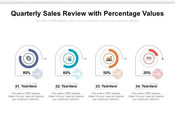 Quarterly_Sales_Review_With_Percentage_Values_Ppt_PowerPoint_Presentation_Pictures_Slide_Portrait_Slide_1