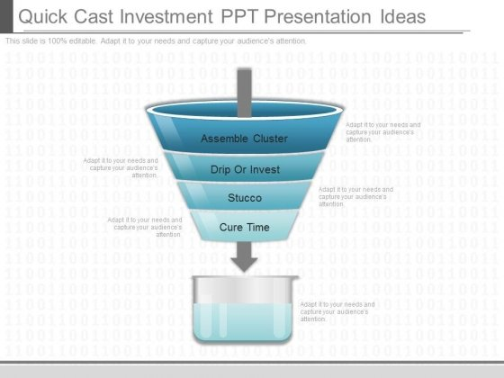 Quick Cast Investment Ppt Presentation Ideas