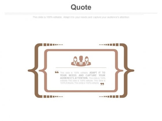 Quote Ppt Slides