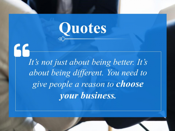 Quotes Marketing Ppt PowerPoint Presentation Professional Good