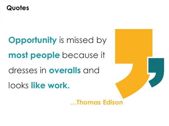 Quotes Opportunity Ppt PowerPoint Presentation Pictures Display