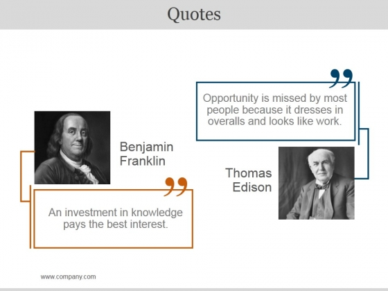 Quotes Ppt PowerPoint Presentation Clipart